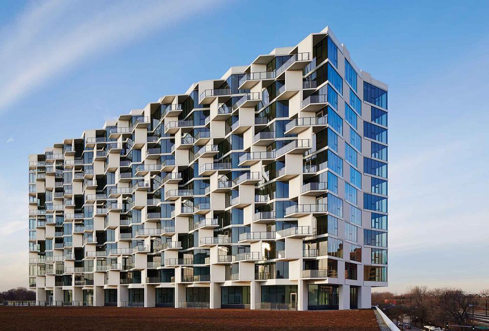 City hyde park for Hotel parking design