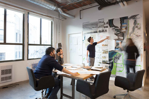Studio gang opportunities for Marketing for architects and designers