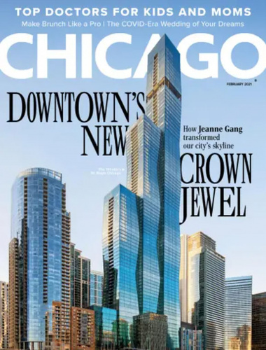 "Chicago Magazine — ""Between Water and Sky"""