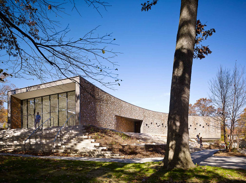 Arcus Center at Kalamazoo College, architecture by Studio Gang