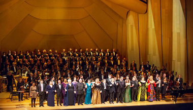 Lyric Opera 60th Anniversary Concert Shell
