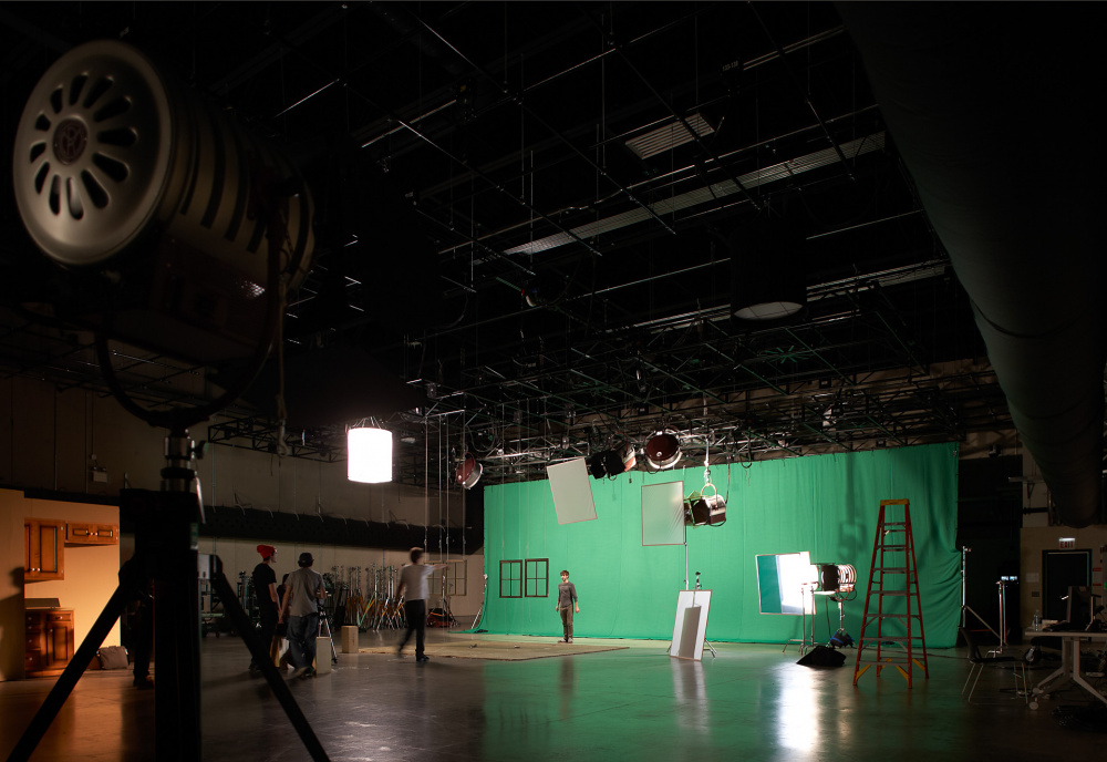 Columbia College Chicago Media Production Center Soundstage