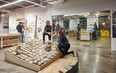 "Metropolis — ""At the Venice Biennale, Jeanne Gang Uses Memphis's Cobblestones to Reflect on Monuments and Messy Civic Histories"""
