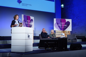 Jeanne Gang in conversation with Martha Thorne at Hay Festival Segovia