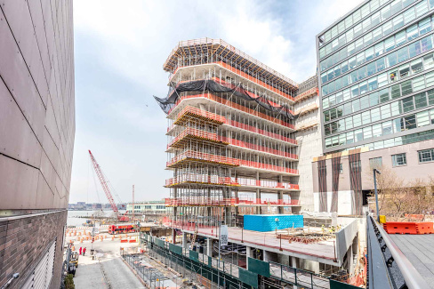 "Curbed New York — ""Studio Gang's High Line-Adjacent 'Solar Carve' Tops Out"""
