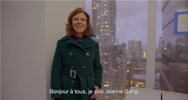 Jeanne Gang at Night of Ideas