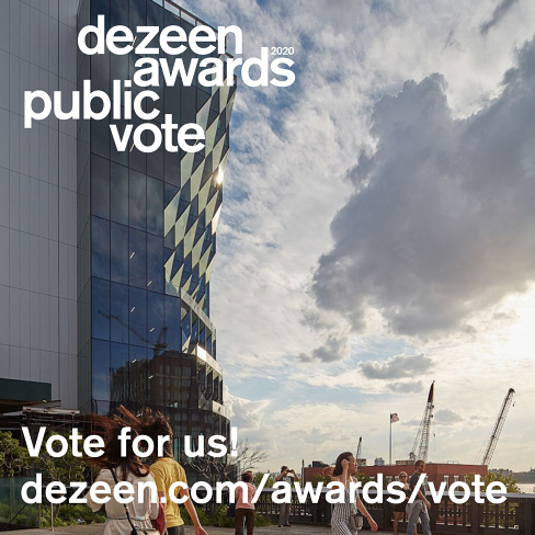 Studio Gang Longlisted for Dezeen's Architect of the Year Award